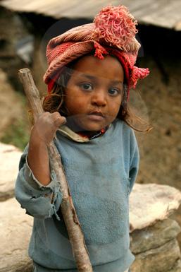 044 Nepalese girl - Nepal