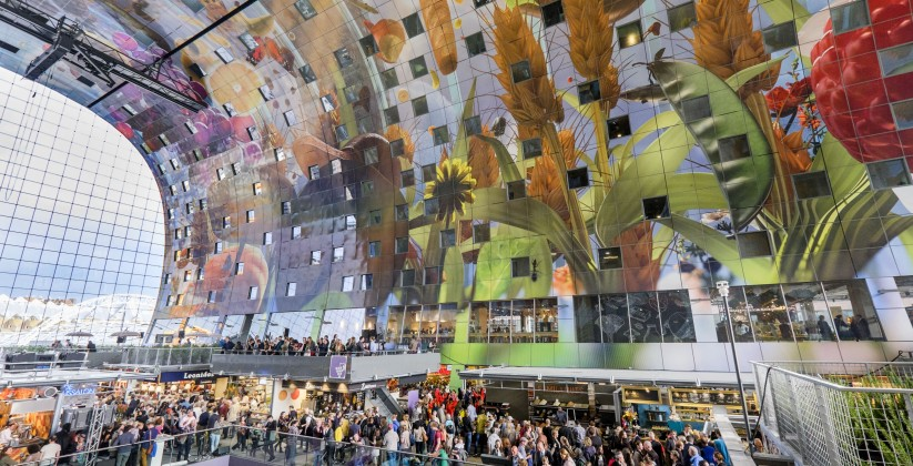 (c) Roel Dijkstra / Foto: Joep van der PalRotterdam - opening Markthal
